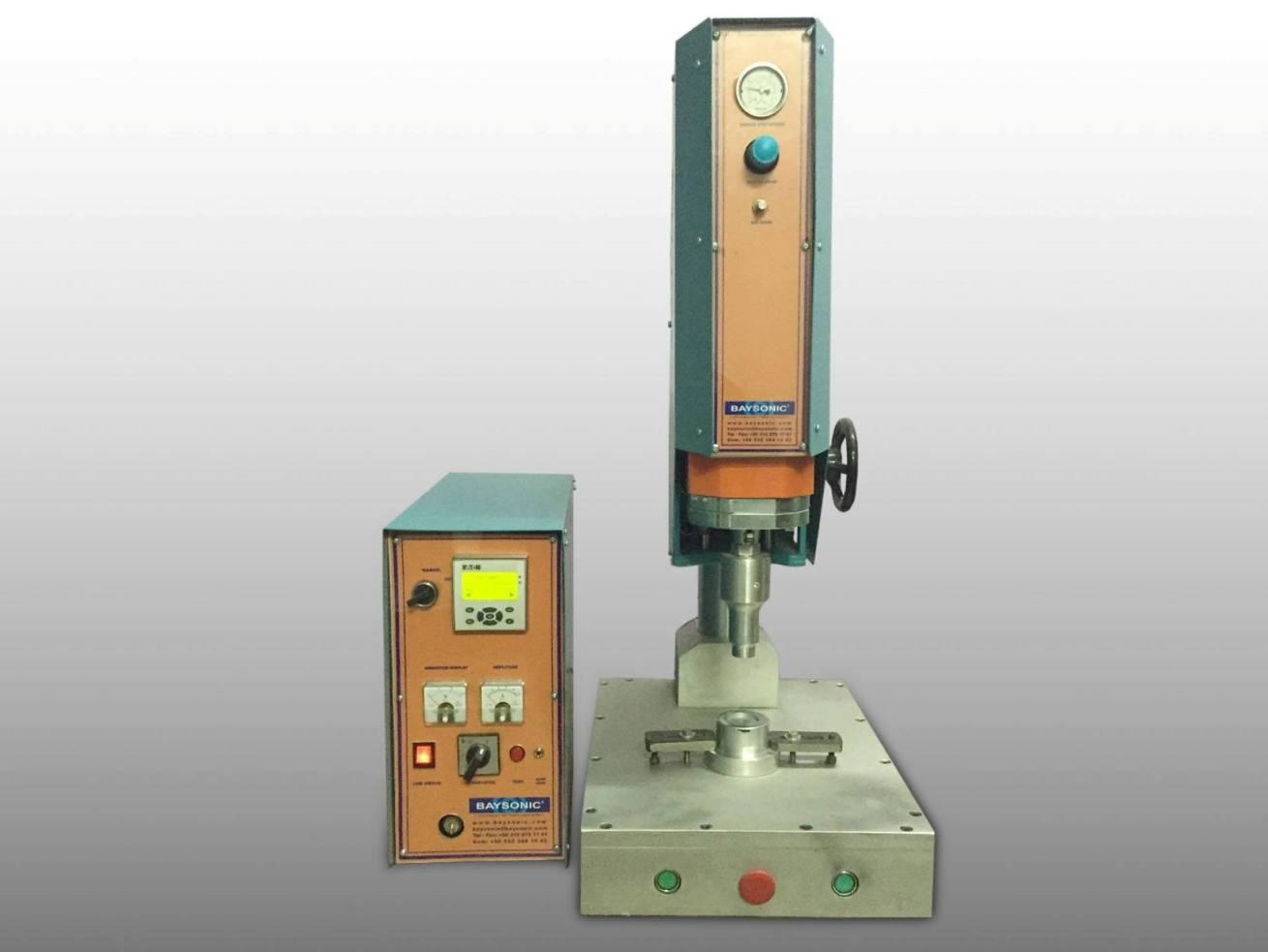 Baysonic ultrasonik plastik kaynak makinesi BSW1520