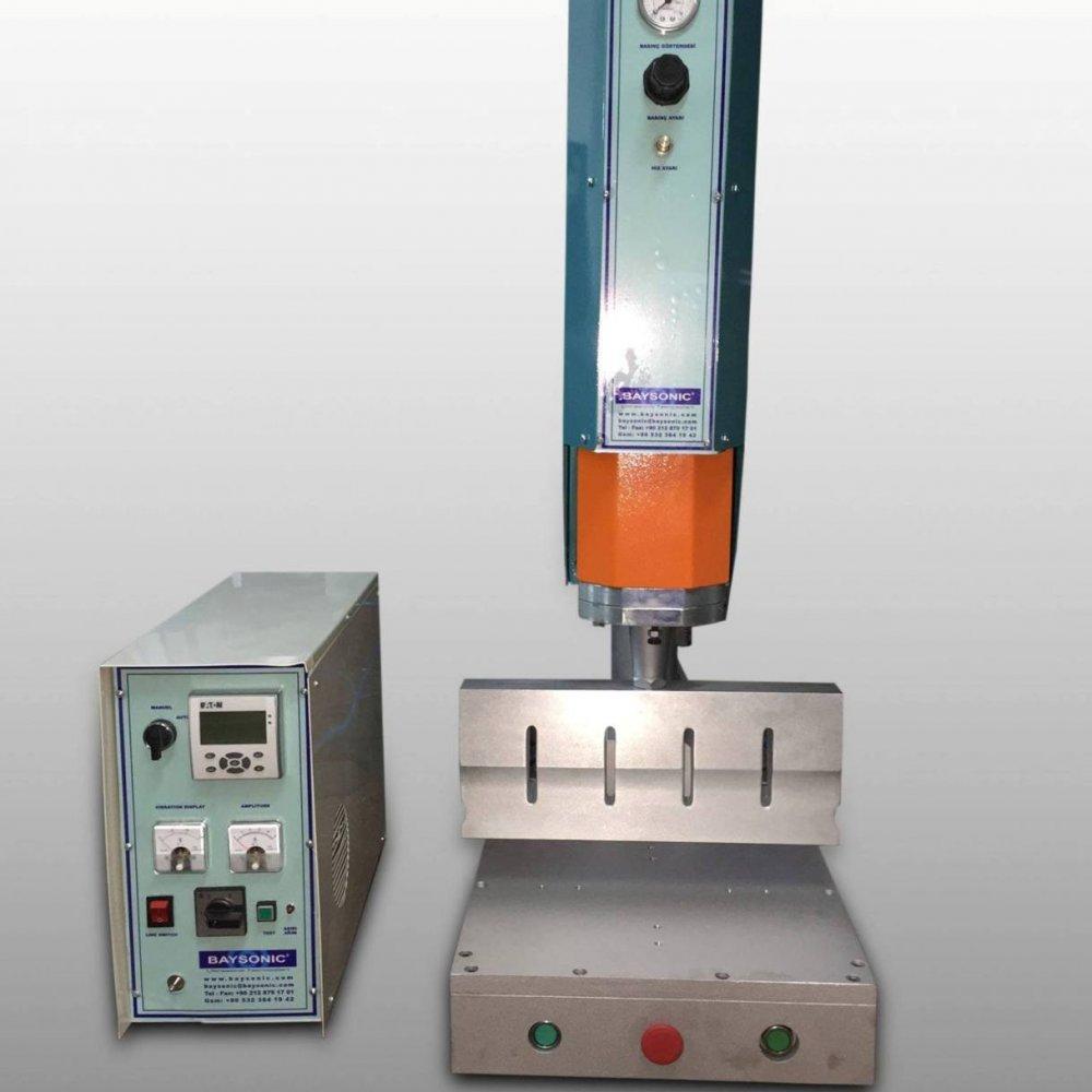 Ultrasonik Plastik Kaynak Makinesi 15 Khz 1800 Watt